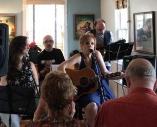 Virginia house concert w/ Angie, Frank, and Paul Guzzone